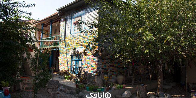 اقامتگاه بومگردی خانه ابریشم رامیان