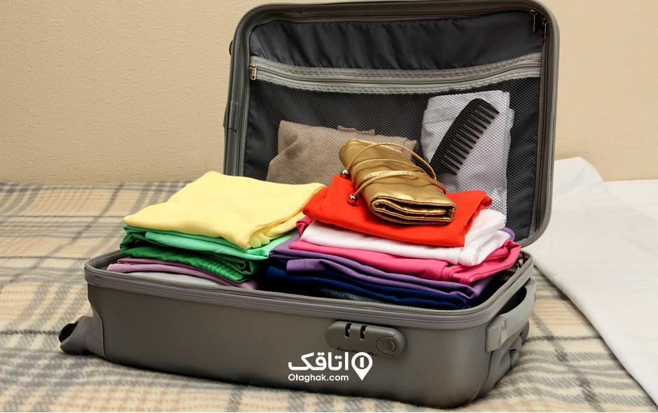 نکات بستن چمدان ۲