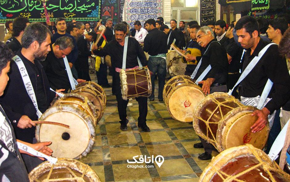 مراسم دمام زنی در بوشهر