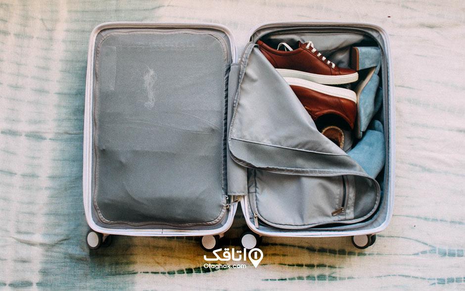 نکات بستن چمدان۳