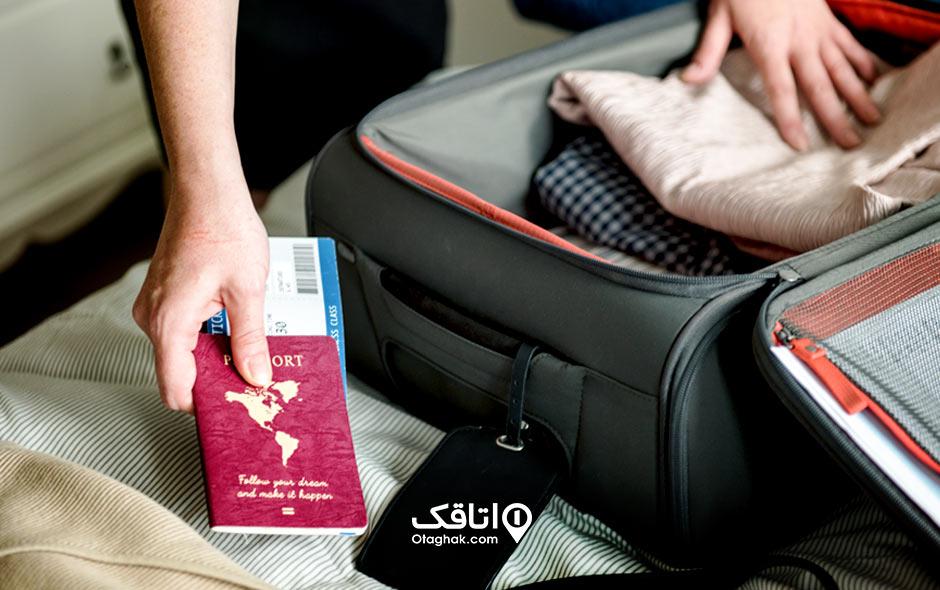 نکاتی دربارهی بستن چمدان