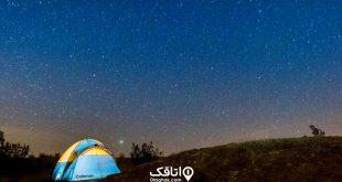 راهکارهایی برای کمپ زدن در کویر