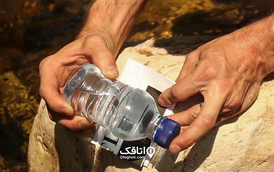 روشن کردن آتش با آب