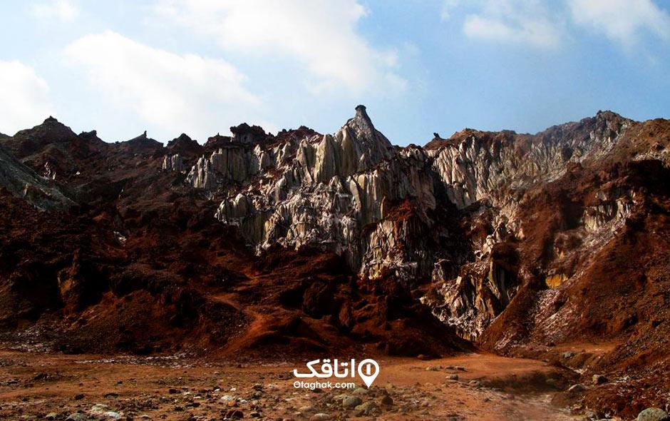 جاذبه گردشگری دره سکوت و الهه نمک