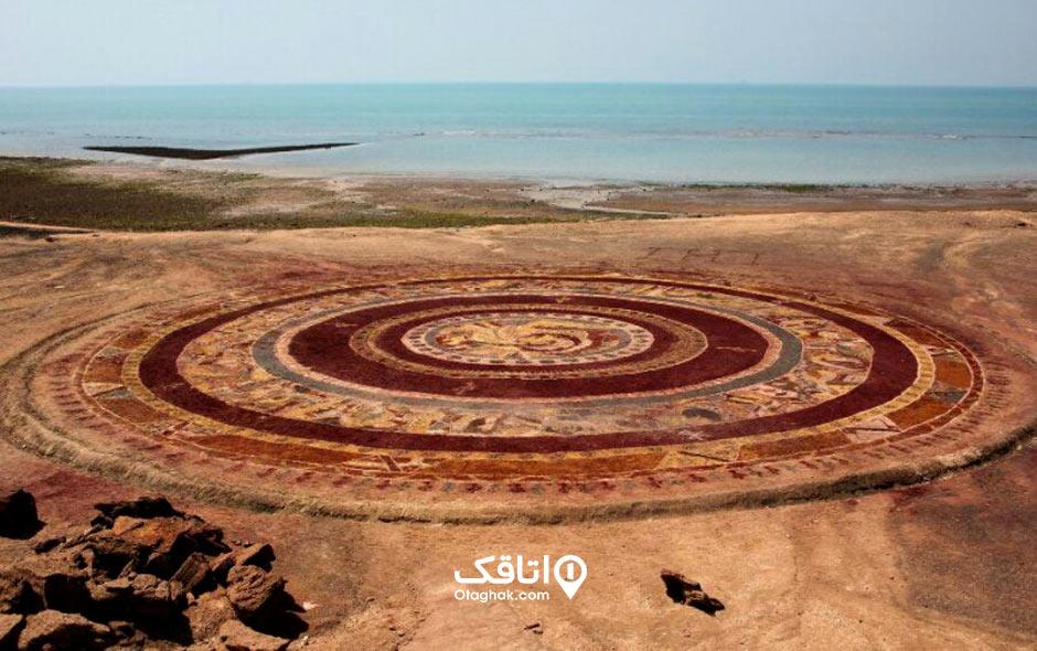 جاذبه توریستی و تفریحی بزرگترین فرش خاکی جهان