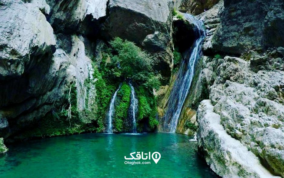 جاذبه گردشگری آبشار فدامی