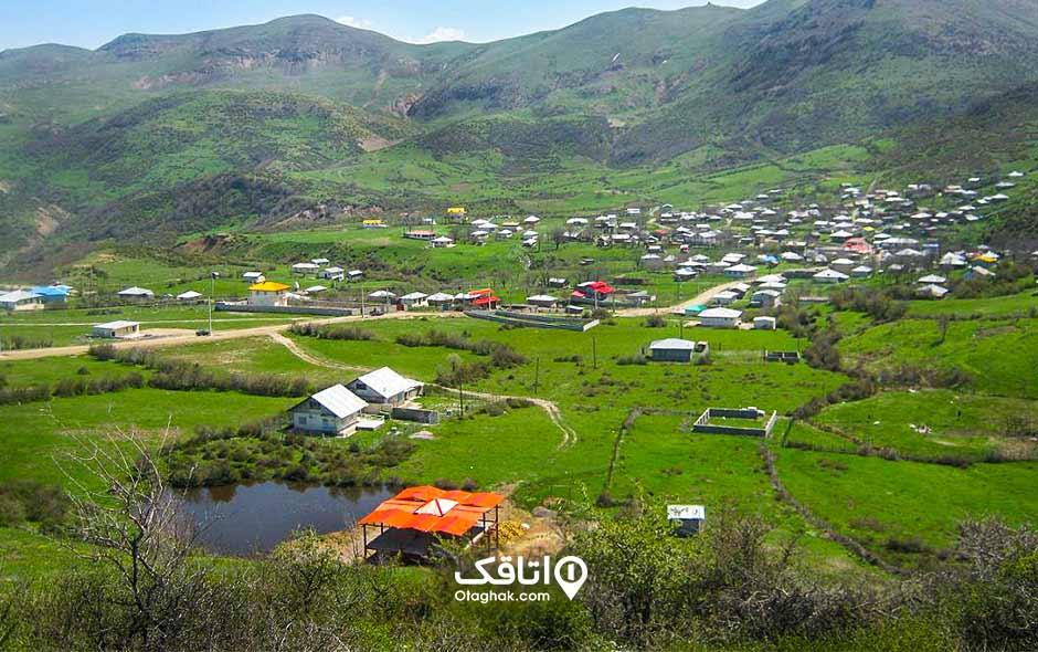 جاذبه توریستی روستای داماش