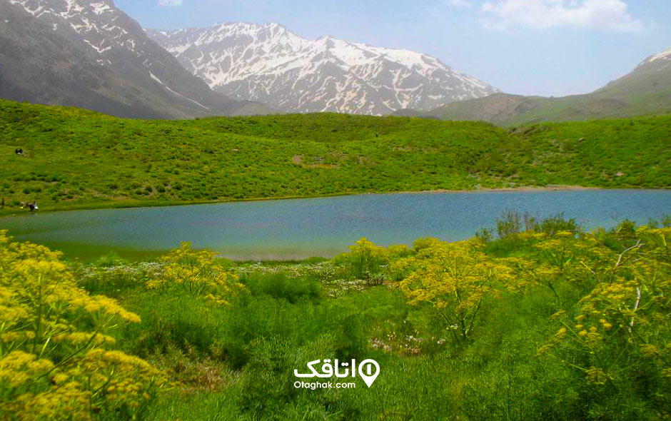 جاذبه گردشگری دریاچه گل پل