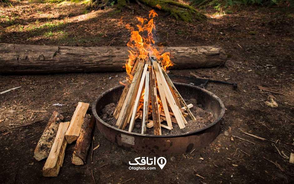 روش درست کردن آتش