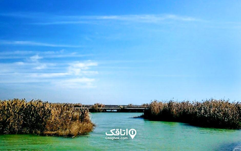 تالاب ناصری مکان های دیدنی خرمشهر