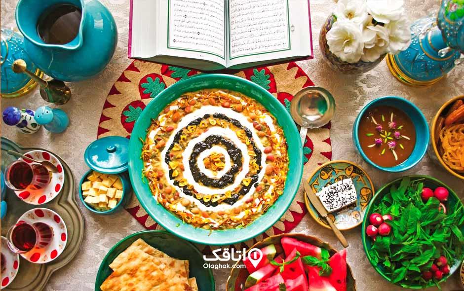 غذاهای مفید در ماه رمضان