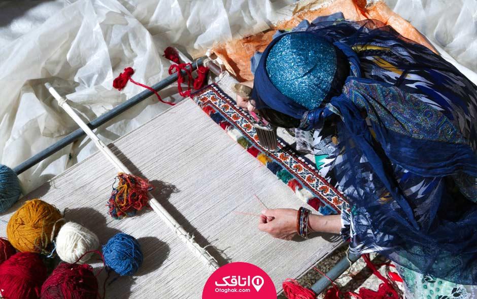قالی فارس روز جهانی صنایع دستی