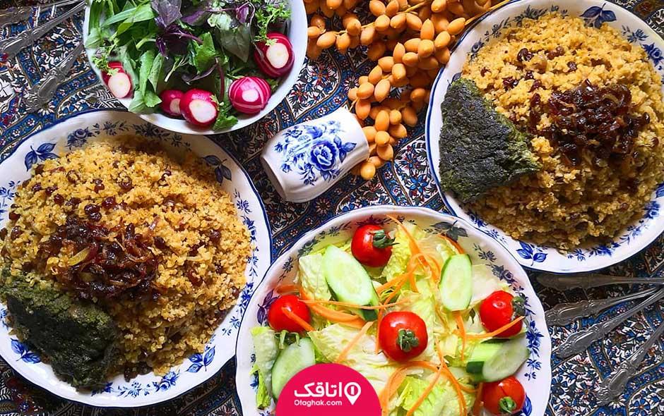 لیست غذای جنوبی ها