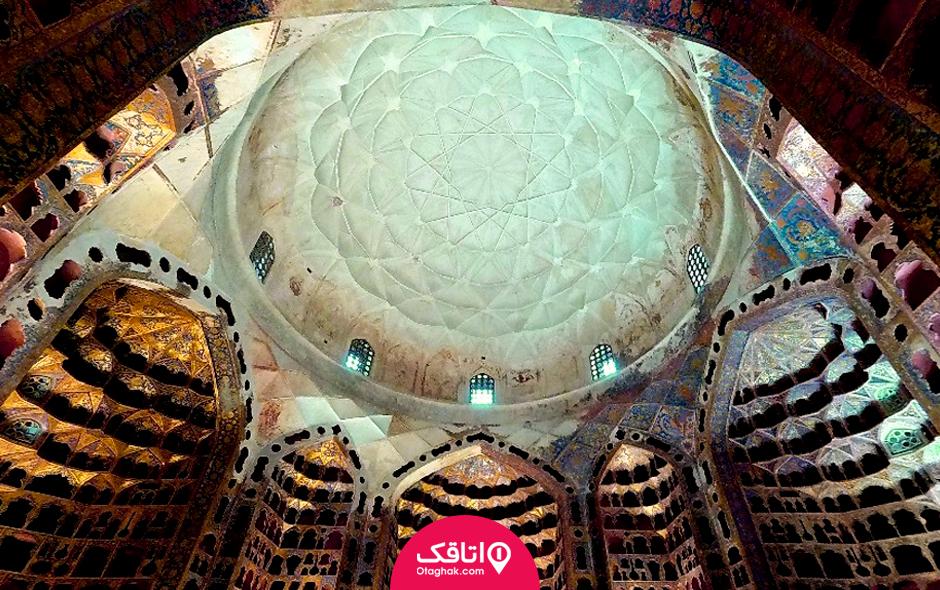 معماری بنای خانقاه شیخ