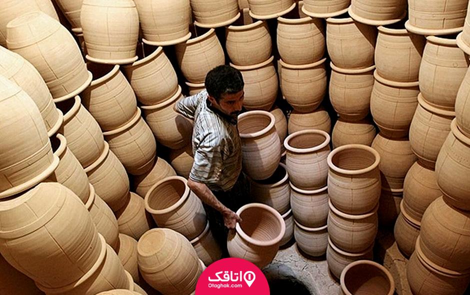فروشگاه صنایع دستی استان قم