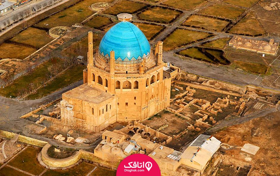 گنبد سلطانیه بزرگ ترین گنبد آجری جهان