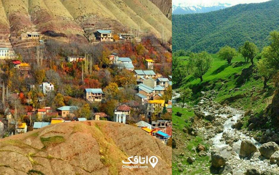 روستای افجه، آب و هوایی خوش در دو قدمی تهران