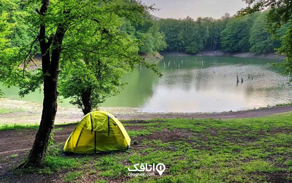 دریاچه جنگلی چورت