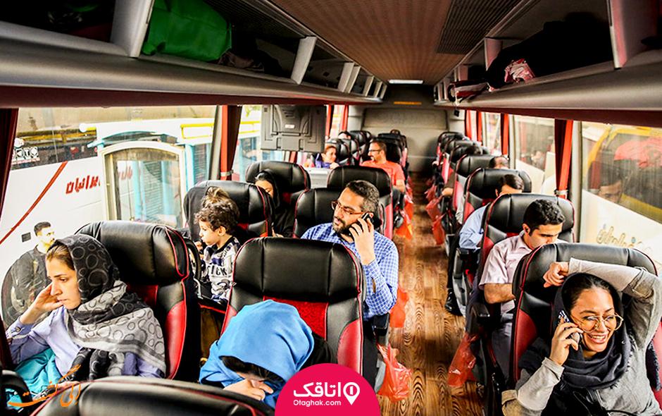 سفر با اتوبوس به شمال ایران