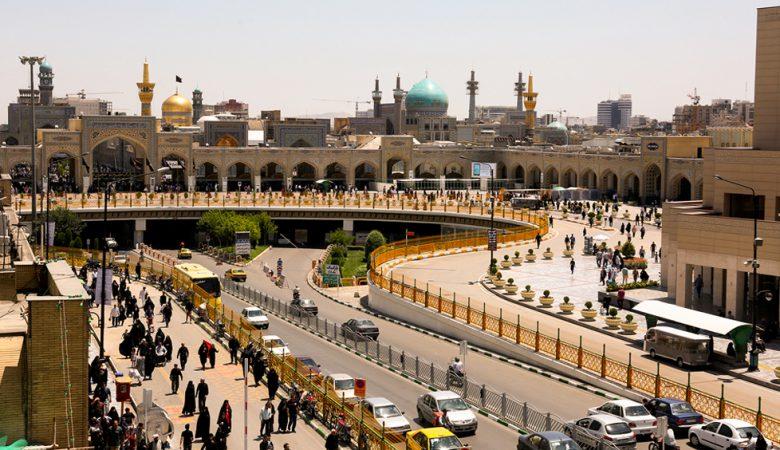 سفر زمینی به مشهد