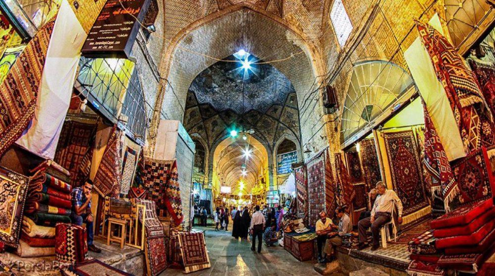 معروفترین بازارهای شیراز