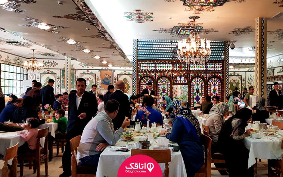 رستوران هتل قصر منشی
