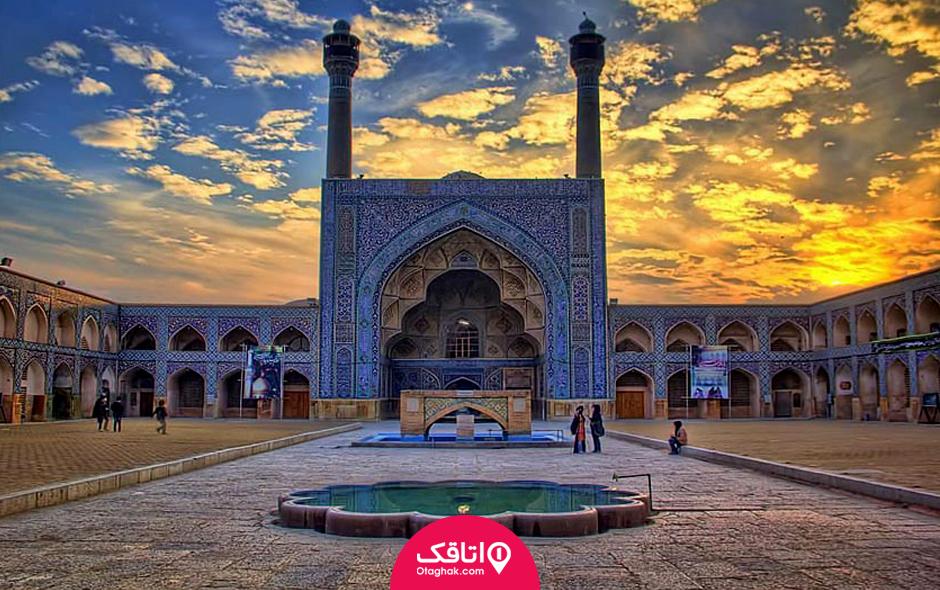 اصفهان در پاییز