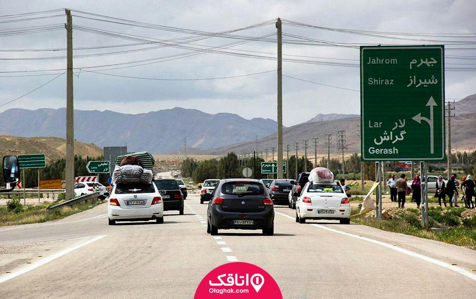 سفر زمینی به شیراز
