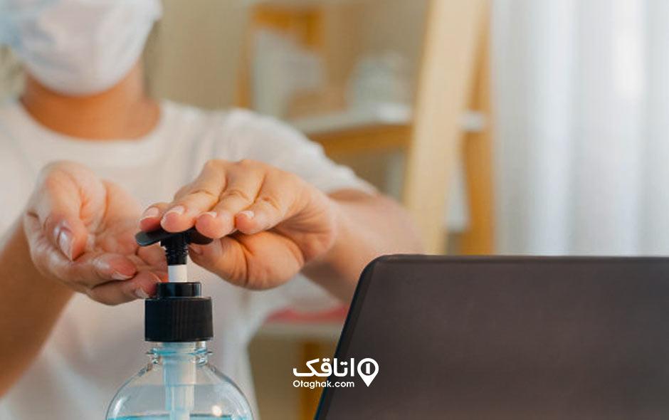 شستن دستها برای در امان ماندن از کرونا