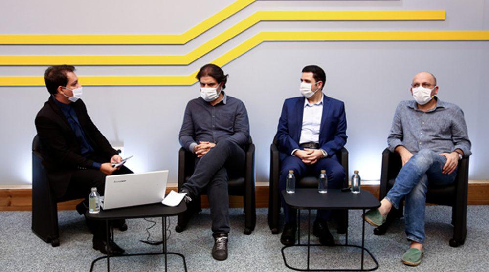 نشست خبری مدیران اتاقک