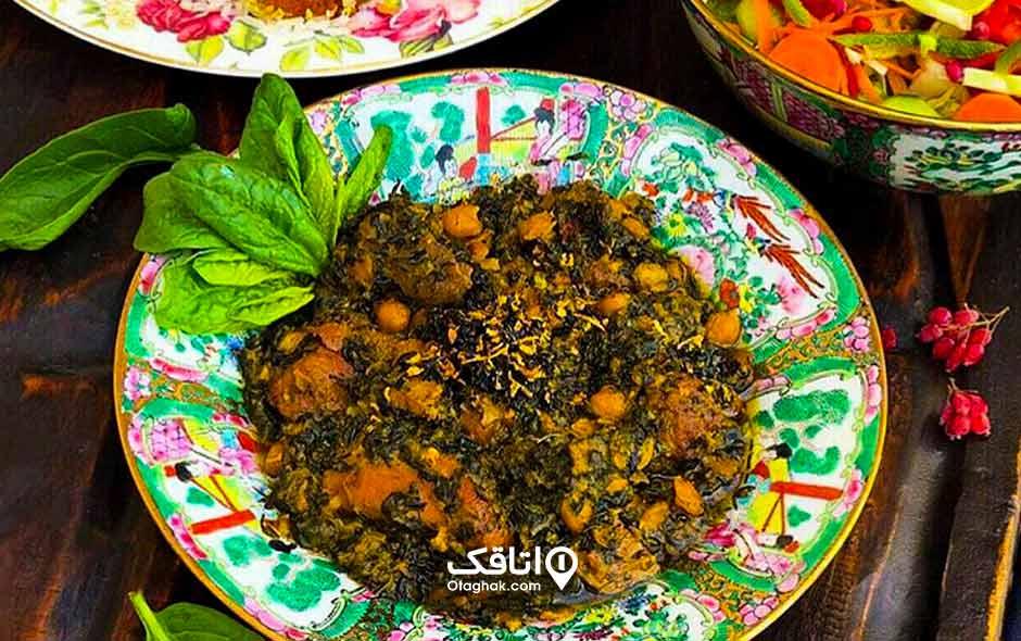 اسپناساک غذاهای محلی رامسر