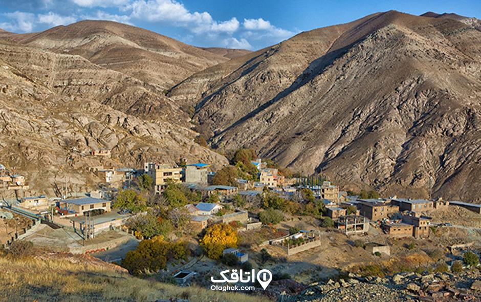 روستای وردیج . جاهای دیدنی آن