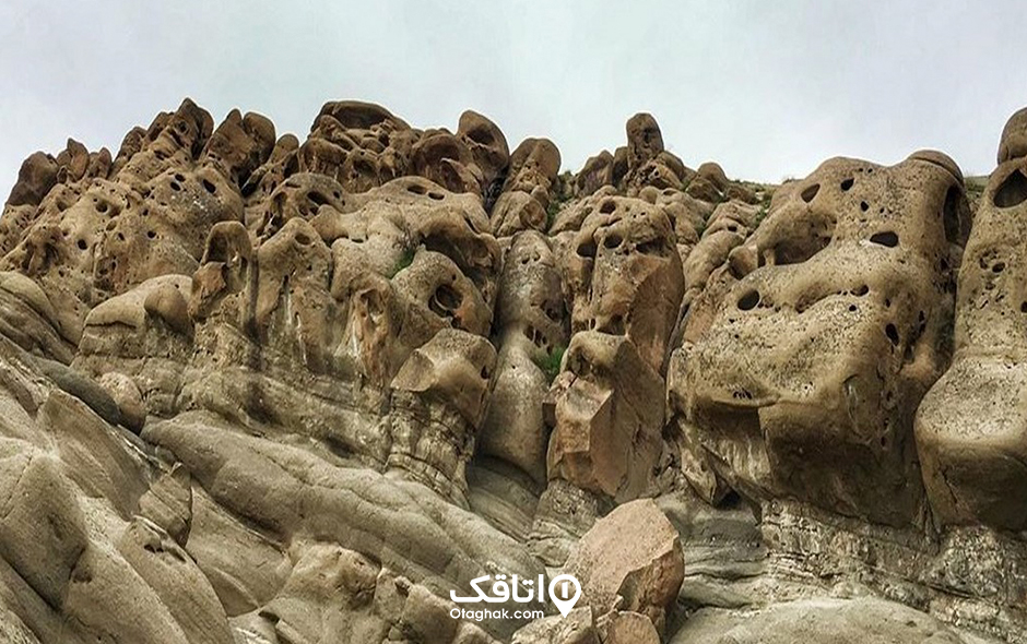 کوه های روستای وردیج