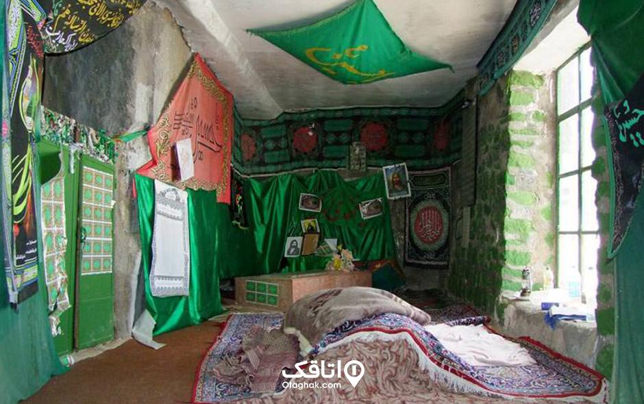 امامزاده بی بی زرین قمر در روستای وردیج
