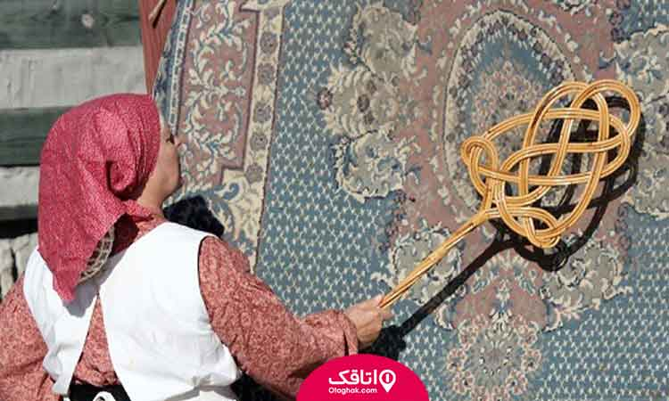خانه تکانی سنتی قدیمی قبل از عید