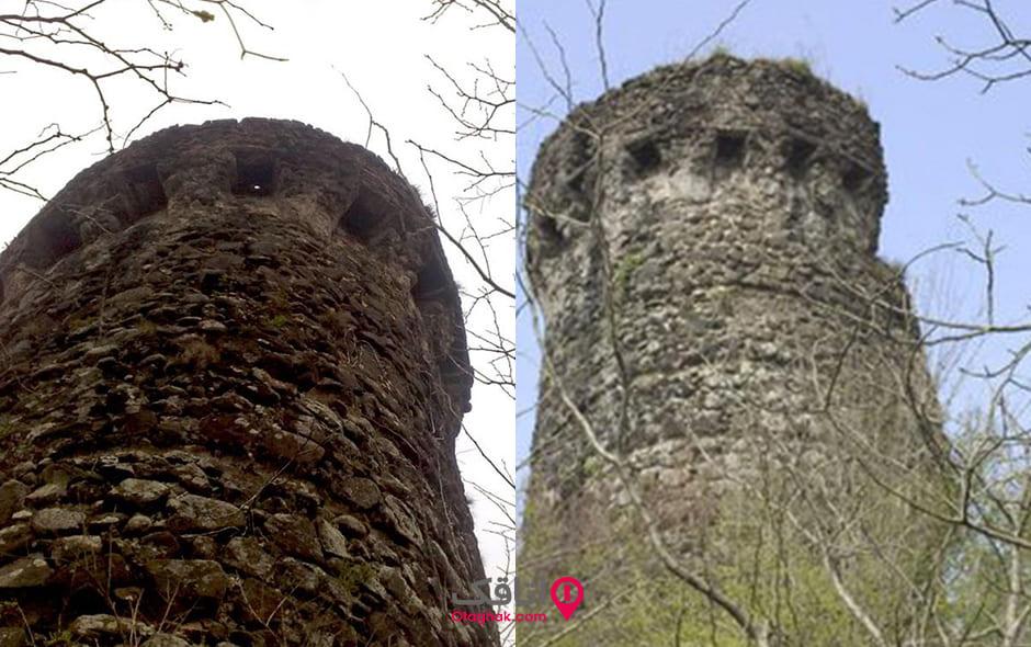 قلعه بندبن در منطقه چابکسر گیلان