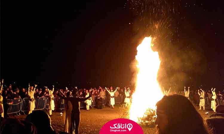 چهارشنبه سوری در آخرین چهارشنبه سال رسم هر سال نوروزی