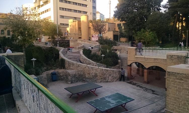 کتابخانه و فرهنگسرای شفق محله یوسف آباد تهران