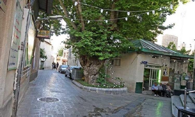 محله جماران تهران